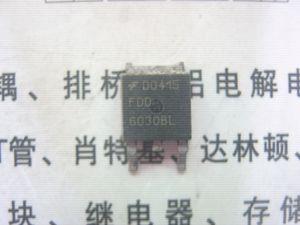 Transistor de efeito de campo usado FDD6030BL FDD6030L N-CHANNEL MOSFET TO-252 teste Ok