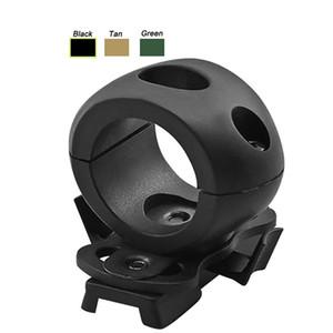 Açık Airsoft Paintball Çekim Dişli Taktik Airsoft Hızlı Kask Aksesuar Taktik Helmtet için 1 inç Fener Kelepçe