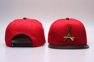 """جديد ثا الخريجين الذهب """"a"""" القبعات snapback القبعات رجل snapback قبعة كرة السلة قبعة البيسبول قبعات snapbacks الهيب هوب القبعات الكرة قبعات"""
