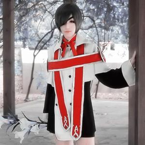 Costumes de cosplay de choeur d'église de Ciel Phantomhive costumes japonais d'anime habillement de maître d'hôtel noir Costumes de mascarade / Mardi Gras / carnaval