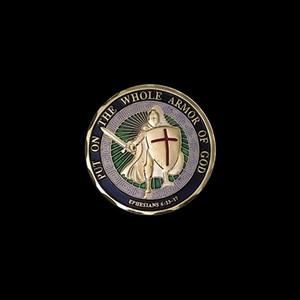 Daima Askeri Souvenir paralar 1pcs Pray Tanrısı Mücadelesi Coin Birleşik Devletler Deniz Piyadeleri Armor Tüm Zırh giy