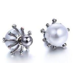 Diamantblumenperle-Dame earings (88) 6ll