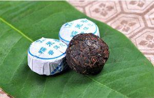 100g Ripe Puer Tea Yunnan Glutinous Rice Fragrance Black Puerh Tea Organic Puer Old Tree Cooked Puer Natural Puerh Preferred