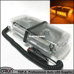 Ambra / Giallo 24 LED 3 Gen Enforcement Avviso di emergenza Mini luci Strobo Light Bar Lightbar Lampeggiante Beacon Lamp Grille