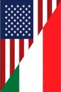 USA États-Unis Amitié Italienne Drapeau Vertical 3ft x 5ft Polyester Bannière Volant 150 * 90cm Drapeau Personnalisé en plein air