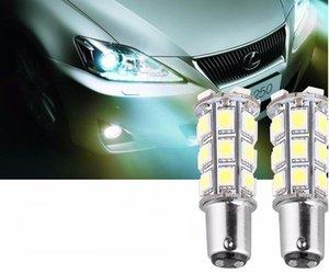 Бесплатная доставка 1157/1156 супер белый 27 SMD автомобилей свет 12 В лампа BA15S 1141 1003 RV Кемпер прицеп авто интерьер свет лампы лампы стоп-сигналы