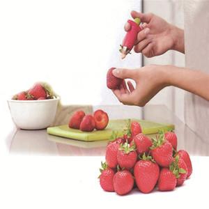 2017 Geschirr Tomaten Stiele Obst Strawberry Knife Stem Blätter Remover Obst Slicer Erdbeere Huller Obst Corer Küche Werkzeug