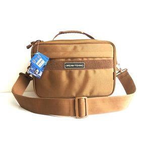 Reel Bag Oxford Tackle de gran capacidad al aire libre de múltiples funciones rueda Sub paquete para hombre y mujer Pesca Gear Camera Bags 88wh F