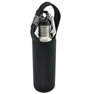 Bierflaschen Isolierte Beutelabdeckung Tragetasche Neopren-Beutelriemen Fahrradflaschenhalter für Bierflaschenkühler mit geöffneter Schlüsselringflasche
