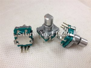 Wholesale- [BELLA]Japan ALPS volume potentiometer navigation EC11 type encoder with 30 points by switching stepping Green--10pcs lot