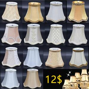 حار بيع جميع أنواع مصباح يغطي عاكس الضوء لشمعة ضوء الجدار ضوء مصباح الملحقات القماش جيدة