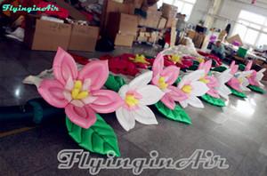 Etapa de los 8m / funcionamiento / secuencia inflable floreciente de la boda de la boda para la decoración