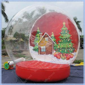 Werbung im Schneekugel, Riese Schnee, Dekoration, Weihnachten aufblasbare Kuppel Foto Christmas Globe Inflatable Qualität, freies Globe für Schiff Argqb