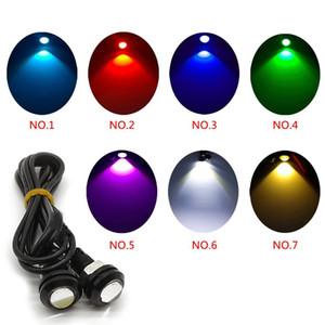 10pcs 18MM Led Eagle Eye DRL Daytime Running Lights DRL Origine backup che inverte parcheggio di segnale lampade trasporto libero impermeabile