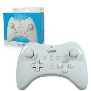 WUP-005 двойной аналоговый Bluetooth беспроводной пульт дистанционного управления USB WII U Pro игровой геймпад для Nintendo Wii U WiiU белый черный Wholsale