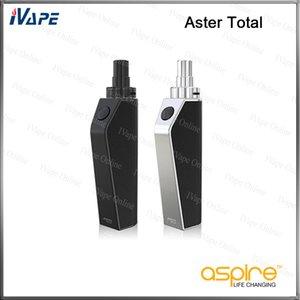 100% Original Eleaf Aster Total Kit 25W 1600mAh 2 ml Remplissage Intermal Réservoir Avec Bypass Mode Batterie Direct Sortie Tension Système