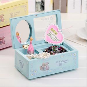 مربع الموسيقى للفتيات الرقص البلاستيك مربع الموسيقى مربع المجوهرات صديقته هدية عيد ميلاد المقالات تأثيث المنزل الإبداعية