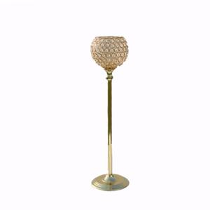 soporte del arreglo floral de la astilla de la tabla / del hierro del oro, centros de mesa de la boda para la tabla