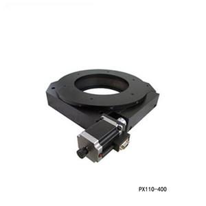 전기 회전 기계 전기 광학 회전 플랫폼 전동 회전 스테이지 직경 : 400mm 베어링 스케일 PX110-400