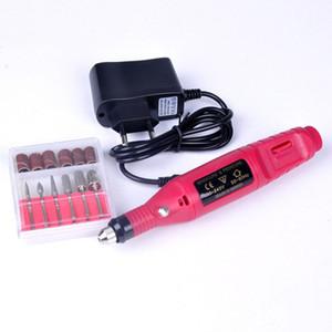 новый ногтей Красота дрель оборудование электрический 220V ЕС / США штекер ногтей искусство дрель для женщин профессиональный маникюр ногтей машина * 41
