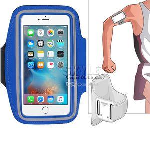 IPhone XS MAX için Su Geçirmez Spor Koşu Kol Bandı Durumda Egzersiz Kol Bandı Tutucu Kılıfı Cep Telefonu Kol Çantası ile OPP TORBA