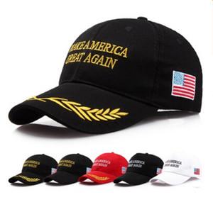 120 piezas Make America Great Again Hat Donald Trump Republican Snapback Sombreros deportivos Gorras de béisbol EE. UU. Bandera de los hombres para mujer Moda Cap
