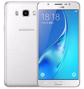 Yenilenmiş Orijinal Samsung Galaxy J5 2016 J5108 Unlocked Cep Telefonu Quad Core 2 GB / 16 GB 5.2 Inç 13MP Çift SIM 4G LTE