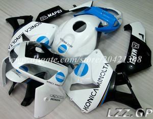 CBR600RR 05 06 fairings+tank For Honda CBR600RR F5 2005 2006 CBR600 RR 2005 2006 F5 injection fairing sets #m20w8 white blue black