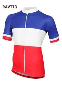França equipe de ciclismo de verão camisa de manga curta de ciclismo bicicleta roupas de bicicleta clothing ropa ciclismo