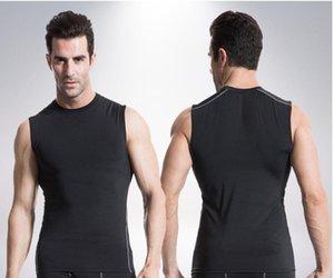 Fashion Men Tank Tops Elastic Man Vest O Neck Singlet Casual Wear Clothes Undershirt Quick Dry Shirt Good Quality B547