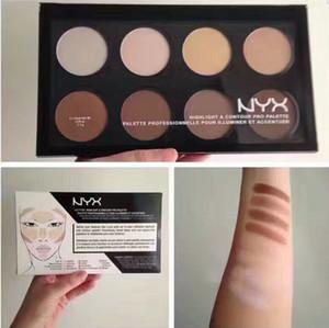 NUEVO NYX Highlight Contour Pro Palette Powder 8 Shadow Foundation Paleta facial NYX Contour vs NYX Wonder Stick