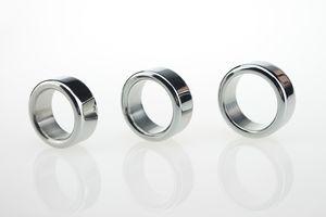 Nuevo acero inoxidable 304 anillo de martillo anillo de metal para hombre Pene anillo glande anillo de la polla, dispositivo de castidad masculina bdsm juguetes sexuales
