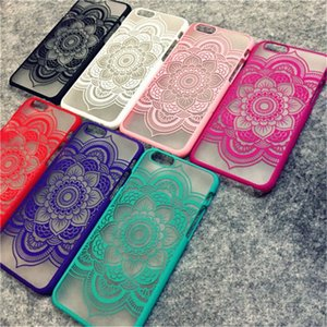 Brand New Beautiful Floral Henna Paisley Mandala Palace Flower Phone Cases Cover For iPhone 7 Capa