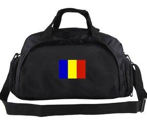 Romanya spor çantası Gezisi tote Ülke ekibi sırt çantası Ulus bayrak bagaj Spor omuz çantası Açık sling paketi