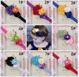 Baby Toddler Girls Lace Sunflower Rose Flower Hair Band Headband YH463
