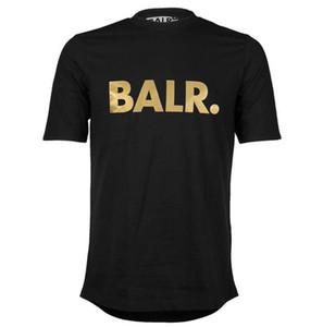 2016 levantar de um balr t-shirt tops balr menwomen t-shirt 100% algodão futebol futebol sportswear ginásio camisas BALR roupas de marca