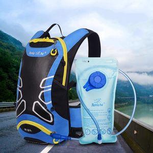 Tırmanma Turizm Sırt Çantası Meslek Açık Hareketi Bisiklet Paketi Adam Ve Kadınlar Için Işık Su Geçirmez Çanta Geometrik Desen 40yd I1
