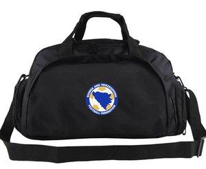 Bolso de lona de Bosnia y Herzegovina Bolso de mano del equipo de fútbol Mochila de diseño de calidad Equipaje de fútbol Bolsa de lona deportiva Bolso de lona al aire libre