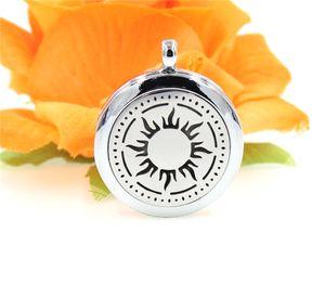 SUN Perfume Aromaterapia óleo essencial Difusor Medalhão 30mm Flutuante medalhão (Felt Pads aleatoriamente livremente) XX112 como melhores presentes