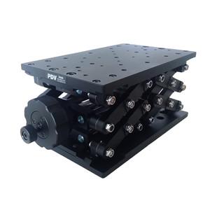 PT-SD409 정밀 수동 리프트, Z 축 수동 랩 잭, 엘리베이터, 광학 슬라이딩 리프트, 120mm 이동