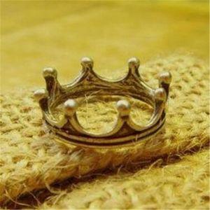 Corona anello Anelli di fidanzamento d'epoca per gioielli Fingers DHL fascino principessa poco costoso annata anniversario di matrimonio anello regalo di Natale