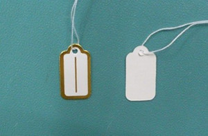 Free Shipping 500pcs lot Label Tags Price Tags Card For Jewellery Gift Packaging Display 13mmX26mm LA7*