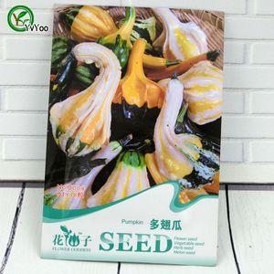 Pumpkin Seeds Bonsai garden plant non-GMO organic vegetable seeds 8 pcs r023