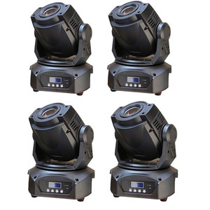 4pcs / lot DJ Led Moving LED bianco Head Spot Luce 90W Dj Fase di illuminazione trasporto libero DMX 14 canali