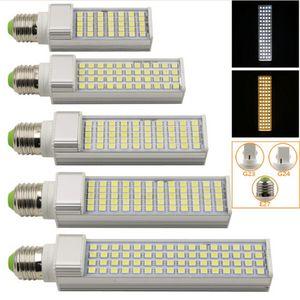 E27 G24 G23 SMD LED bulbo del maíz 5,050 Horizontal Plug luces LED Spotlight 180 degeree 5W 7W 9W 10W 12W 14W 15W llevó iluminación AC85-265V