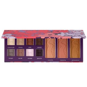 Wholesale- NEW TOO HOT FOR FACED  SET MATTE NAKED EYESHADOW BLUSH Bronzer 3 IN 1 sweet peach NUDE maquiagem