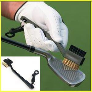 Golf Temizleme Fırçası Cue Geri Dönüşümlü Yuvarlak Kafa Fırçaları Uzman Çift Taraflı Kullanışlı Ve Pratik Kolay Temizlenir 2py H