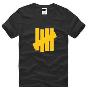 Nueva camiseta invicta de verano de los hombres de moda de manga corta de algodón camiseta de Hip Hop Tee Camisetas Hombre Tops