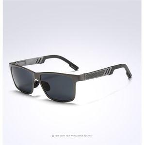 Moda masculina Polarize Sunglasses Cheap Metal Brand Sunglasses para hombre Black Beach Vintage Sunglasses Hot Sale China envío gratis