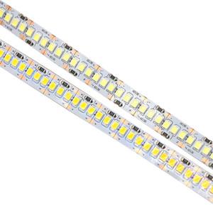 Großhandels-DC12V 2835 LED-Streifenlicht 240 LEDs m String Ribbon Seil Band für Decorat Mehr Brighter als 3528 3014 weiß Warm White